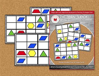 Pattern Sudoku - Level 3 - Digital Download