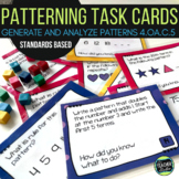 Differentiated Pattern Task Cards: Grades 3-5