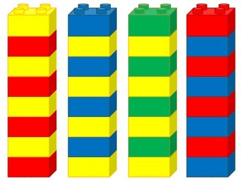 Pattern Task Cards for Duplo/Lego