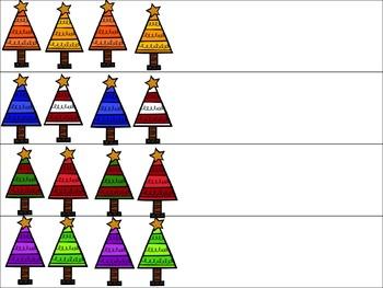Pattern Trees (AB, ABC, AABB, ABB) Freebie