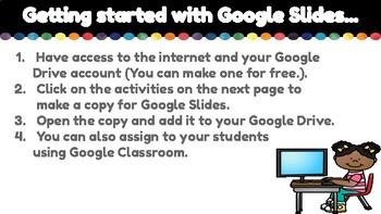 Pattern Unit for Google Classroom
