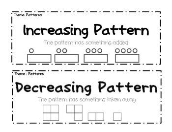 pattern vocab by the language arts lady teachers pay teachers. Black Bedroom Furniture Sets. Home Design Ideas
