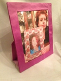 Pattern Washable No Sew 10x12 Picture Frame for 8x10 in photo printable download