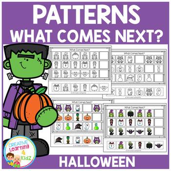 Patterns Halloween Worksheets