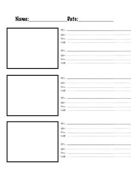 Kindergarten Pattern Writing Unit Materials
