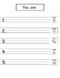 Pattern Writing with Sight Words (Freebie from Bundle 3!)