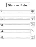 Pattern Writing with Sight Words (Bundle 9 Freebie!)