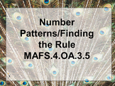 Pattern and Rule Flip Chart