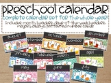 Patterned Calendar Set for the Whole Year!