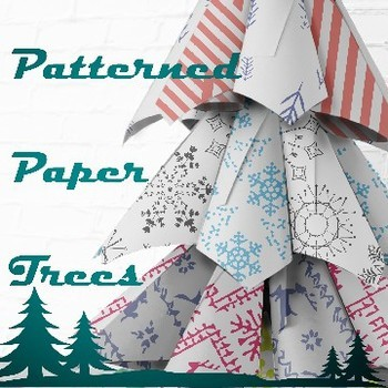 Patterned Paper Trees Project (with printable patterned-papers!)