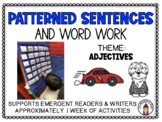 Patterned Sentences and Word Work in English Adjectives