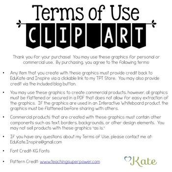 Patterned Tablet Clip Art