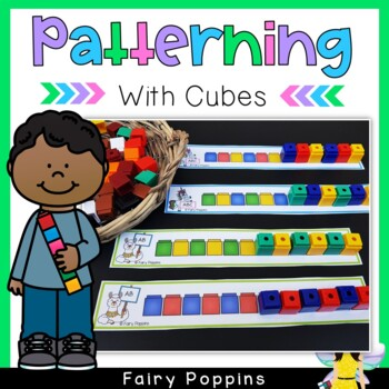 Patterning Activities Bundle {Math Centers}