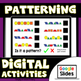 Patterning Activities for Google Slides Distance Learning