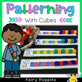 Patterning Activities with Cubes {Math Center}