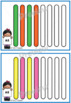 Patterning Activities with Popsicle Sticks {Math Center}