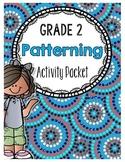 {Grade 2} Patterning Activity Packet