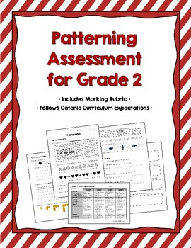 Patterning Assessment for Grade 2 {Ontario Curriculum}