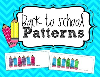 Patterning - Back to School