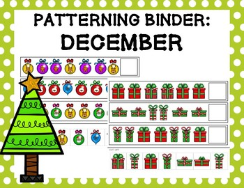 Patterning Binder: December