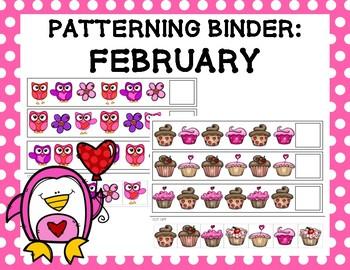 Patterning Binder: February