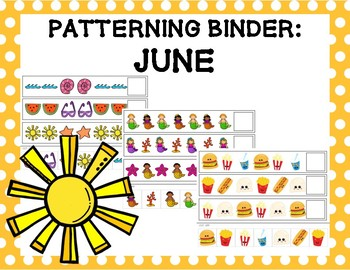 Patterning Binder: June