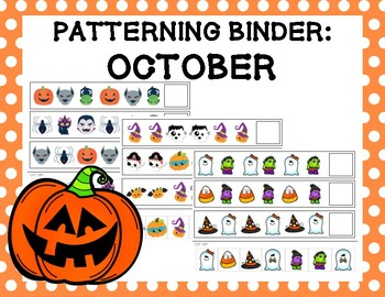 Patterning Binder: October