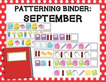 Patterning Binder: September