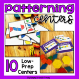 Patterning Centers with Pattern Blocks - 10 Hands-On Patte