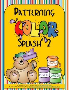 Patterning: Color Splash 2