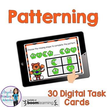 Patterning Digital Task Cards BOOM CARDS