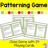 Patterning Game
