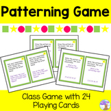 Patterning Game