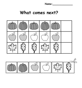 Patterning/Graphing Activities for K-1
