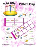 Patterning Mat and Card Game {Play Time Pattern Play} Comm