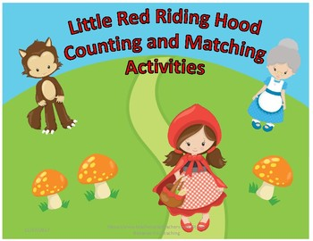 Patterning & Matching: Little Red Riding Hood