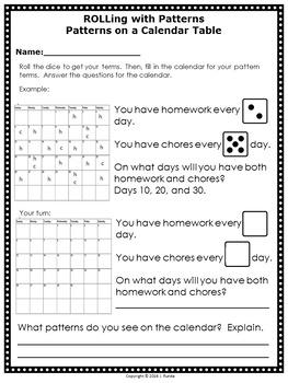 Patterning Math Centers