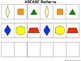 Pattern Block Mats and Linking Cube Mats for Practicing Ma