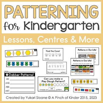 Patterning Party!: A Mini Unit for Kindergarten