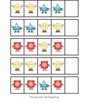 Patterning: Sassy Shapes