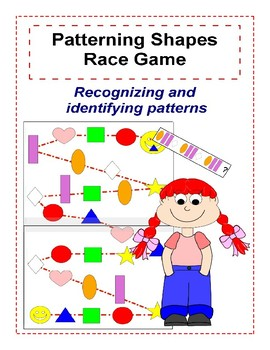 Patterning Shapes Race Game