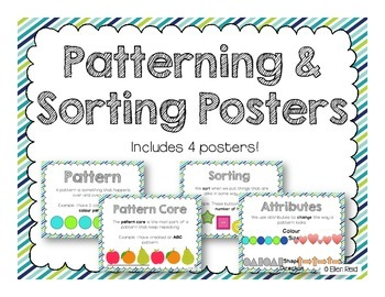 Patterning & Sorting Posters