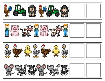 Patterning Strips: Farm