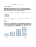 Patterning Summative Task