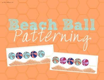 Patterning - Summer Beach Balls