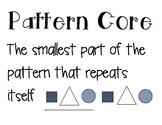 Patterning Unit Anchor Charts