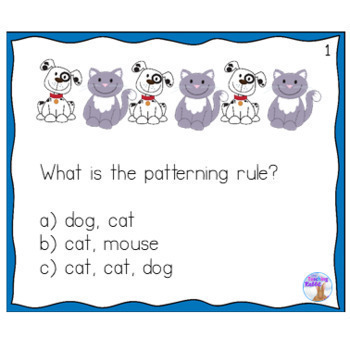Patterning Unit for Grade 1 (Ontario Curriculum)