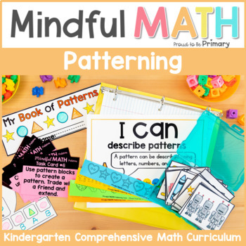 Patterning - Kindergarten Mindful Math