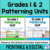 Patterning Units Bundle (Grades 1 & 2) - Distance Learning