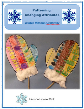 Patterning - Winter Mitten Craftivity